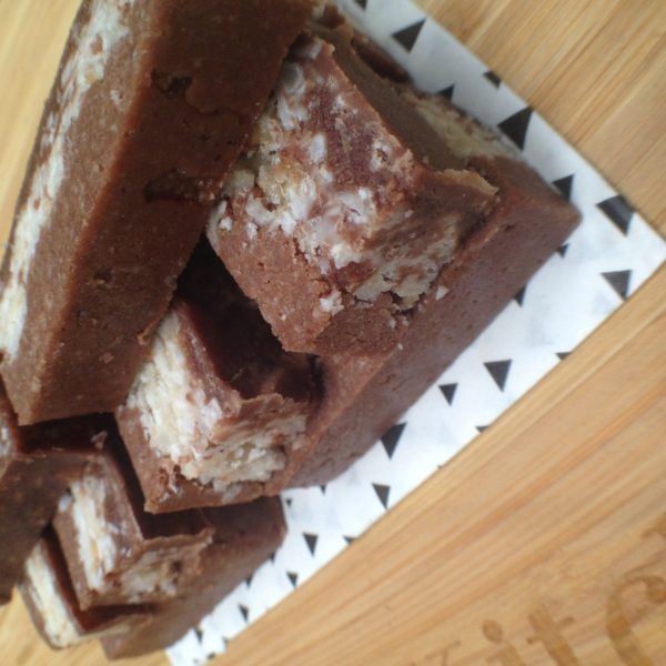 Healthy and better Bounty slice